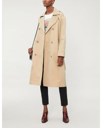 Maje - Gomby Drop-shoulder Trench Coat - Lyst