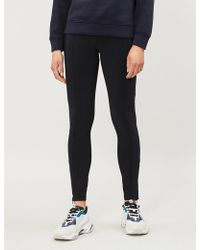 Sandro - Marina Stretch-knit leggings - Lyst