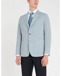 Paul Smith - Soho Tailored-fit Wool Blazer - Lyst