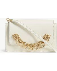 Chloé - Natural White Drew Bijou Leather Clutch Bag - Lyst