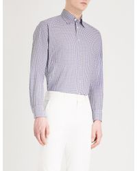 Eton of Sweden - Checked Contemporary-fit Cotton Shirt - Lyst