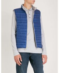 Michael Kors - Quilted Shell Gilet - Lyst