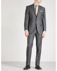 Richard James - Sharkskin-weave Slim-fit Wool Jacket - Lyst