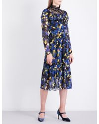 L.K.Bennett - L.k. Bennett X Preen Reed Rose Silk Dress - Lyst
