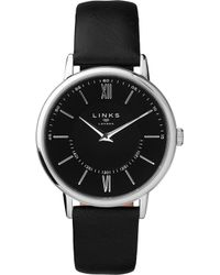 Links of London - 6010.2215 Noble Stainless Steel And Leather Watch - Lyst