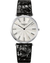 Longines - L4.755.4.71.2 La Grande Classique Stainless Steel And Alligator Leather Watch - Lyst