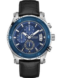 Guess - W0673g2 Pinnacle Stainless Steel Watch - Lyst