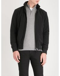 Emporio Armani - Hooded Shell Bomber Jacket - Lyst