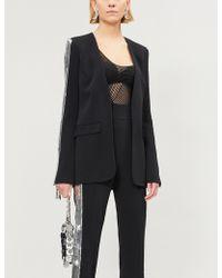 David Koma - Sequin-embellished Crepe Jacket - Lyst