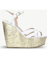 Miss Kg - Kabby High Heel Wedge Sandal - Lyst