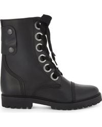 Zadig & Voltaire - Joe Leather Boots - Lyst