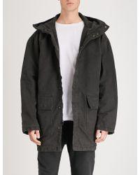 Yeezy - Season 6 Hooded Cotton Parka Jacket - Lyst