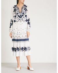 MICHAEL Michael Kors - Embellished Maxi Dress - Lyst