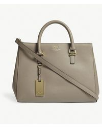Kurt Geiger - Richmond Saffiano Leather Tote - Lyst