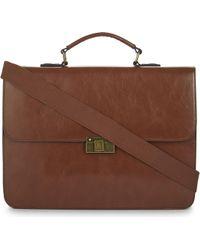 ALDO Hallock Leather Briefcase