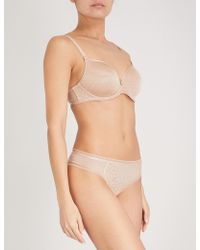 Chantelle - Courcelles Stretch-jersey Spacer Bra - Lyst