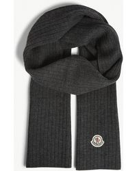 Moncler - Wool Scarf - Lyst