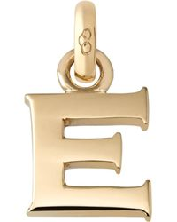 Links of London | E 18ct Yellow Gold Charm | Lyst
