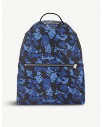Smythson - Burlington Small Leather Backpack - Lyst