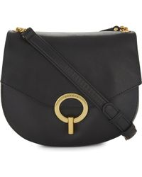 Sandro | Pepita Leather Cross-body Bag | Lyst