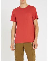 A.P.C. - Jess Cotton-jersey T-shirt - Lyst