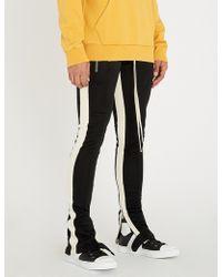 Fear Of God - Side-stripe Jersey Jogging Bottoms - Lyst