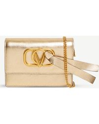 a7b0064a98d Valentino - Exclusive Grained Leather Bag - Lyst