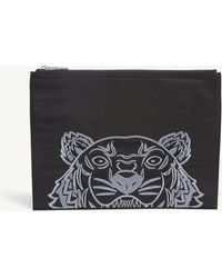 KENZO - Tiger Motif Pouch - Lyst