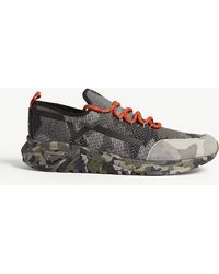 DIESEL - S-kby Camoknit Trainers - Lyst