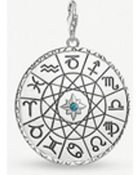 Thomas Sabo - Star Sign Sterling Silver Charm - Lyst
