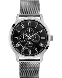 Guess - W0871g1 Delancy Silver Watch - Lyst