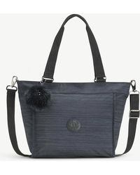 Kipling - Ladies True Dazz Navy Blue Practical New Shopper Nylon Bag - Lyst