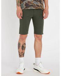 True Religion - Skinny Stretch-denim Shorts - Lyst