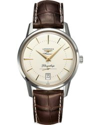 Longines - L4.795.4.78.2 Flagship Heritage Collection Stainless Steel Watch - Lyst