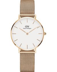 Daniel Wellington - Classic Petite Melrose Rose Gold-plated Watch - Lyst