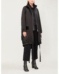 Song For The Mute - Satin Padded Parka - Lyst