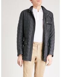 Ferragamo - Quilted Shell Field Jacket - Lyst
