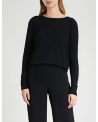 Claudie Pierlot - Fine-knit Wool Jumper - Lyst