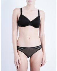 Chantelle - Merci Jersey And Lace Maternity Bra - Lyst