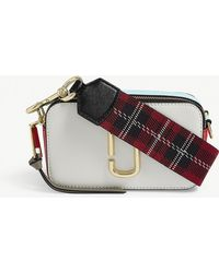 Marc Jacobs - Snapshot Leather Wallet On Chain - Lyst