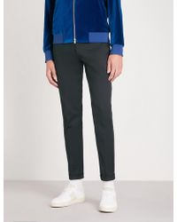 Paul Smith - Slim-fit Tapered Stretch-cotton Trousers - Lyst