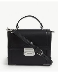 MICHAEL Michael Kors - Jayne Pebbled Leather Trunk Bag - Lyst