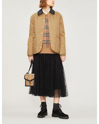 Burberry - Dranefeld Quilted Coat - Lyst