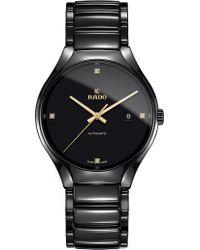 Rado R27056712 True Ceramic And Diamond Watch
