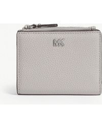 MICHAEL Michael Kors - Logo Leather Folding Wallet - Lyst