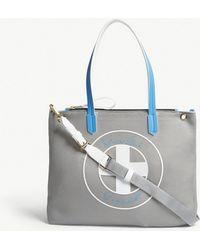 Vionnet - Medium Logo Flat Mesh Tote Bag - Lyst