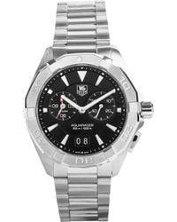 Tag Heuer - Way111z.ba0910 Aquaracer Alarm Stainless Steel Watch - Lyst
