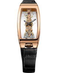 Corum - Miss Golden Bridge Watch - Lyst