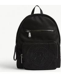 Balmain - Club Logo Canvas Backpack - Lyst