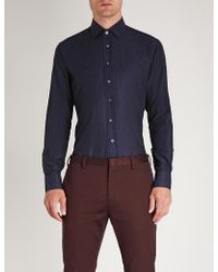 Etro - Patterned Regular-fit Shirt - Lyst